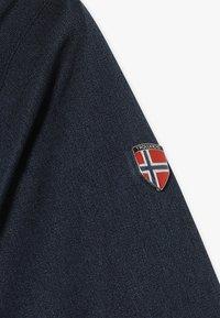 TrollKids - GIRLS OSLO COAT  - Winter coat - navy/magenta - 7