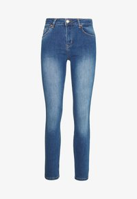 BLANCHE - JADE LIGHT CROPPED - Jeans slim fit - indigi heavy enzy - 3