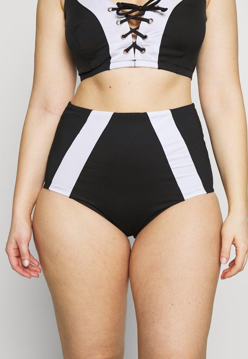 City Chic - MESSINIA BRIEF - Bikinibroekje - black