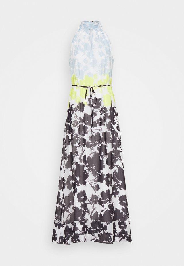 MORGAN SILHOUETTE DRESS - Maxiklänning - blue/multi