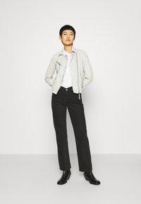 Gipsy - LABAGV - Leather jacket - off white - 1