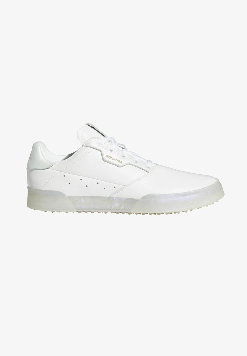 adidas Performance - ADICROSS RETRO SPIKELESS - Golf shoes - white