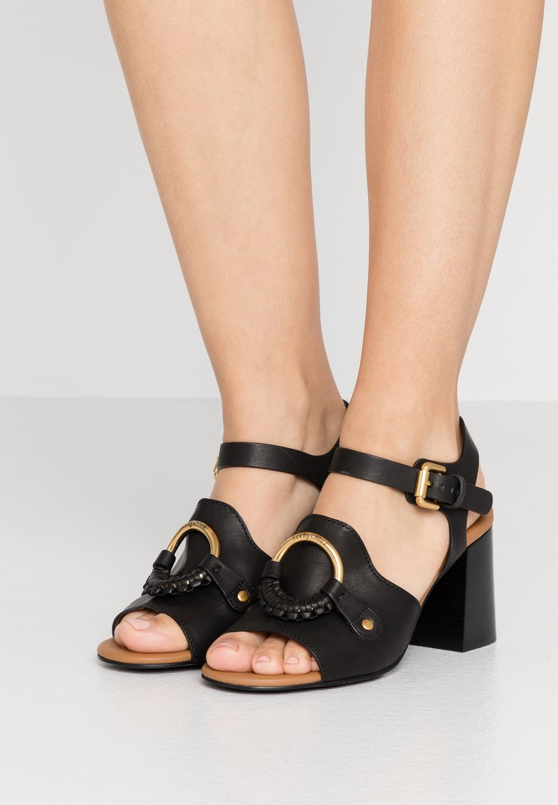 See by Chloé - Ankle strap ballet pumps - nero