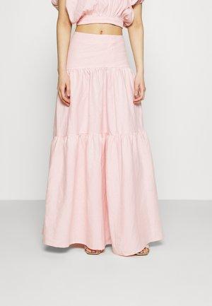 THE DAY BREAK SKIRT - Maxi skirt - pink