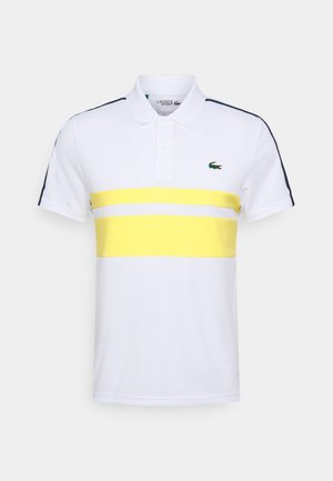 TENNIS - Sports shirt - white/pineapple