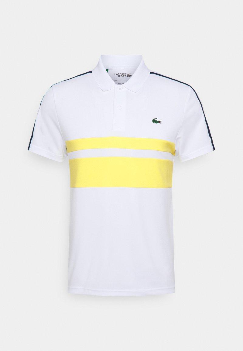 Lacoste Sport - TENNIS - Sportshirt - white/pineapple