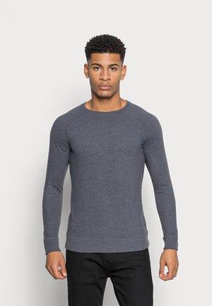 RAGLAN CREW - Jumper - ebony grey
