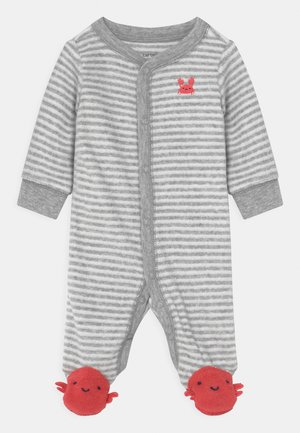 CRAB - Sleep suit - grey/red