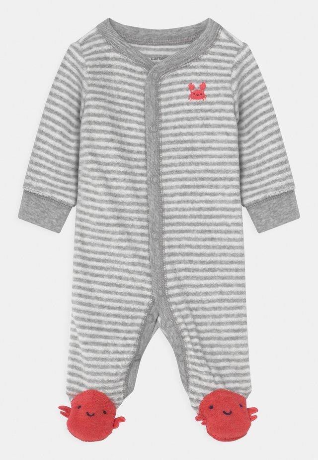 CRAB - Sleep suit - grey/red