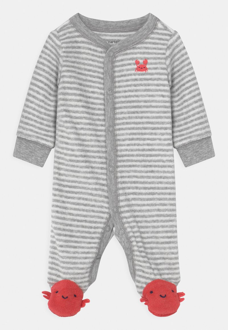 Carter's - CRAB - Sleep suit - grey/red