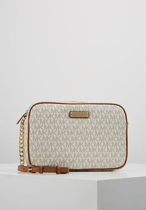 JET SET CROSSBODY - Olkalaukku - white