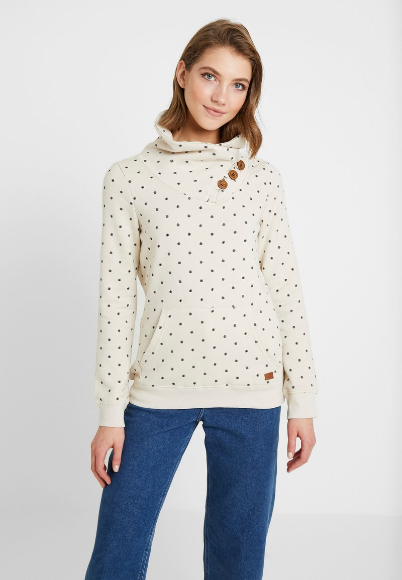 ONLY - ONLMADINE HIGHNECK - Sweater - pumice stone/night sky