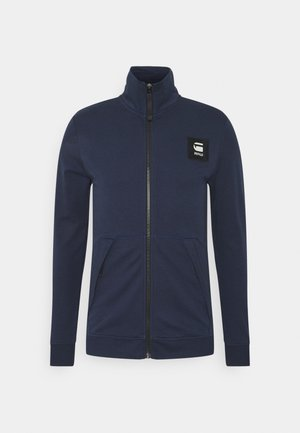ZIP THROUGH TRACK TWEETER L\S - Veste de survêtement - sartho blue