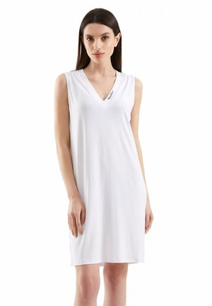Jersey dress - bianco ottico