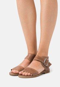 Felmini - CAROL  - Ankle cuff sandals - cognac - 0
