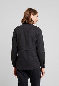 New Look - POCKET UTILITY SHACKET - Summer jacket - black - 2