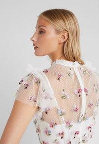 Needle & Thread - ROCOCO BODICE MAXI DRESS - Společenské šaty - ivory - 5