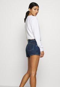 Calvin Klein Jeans - Denim shorts - dark blue stone shank - 3