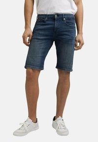 edc by Esprit - Szorty jeansowe - blue dark washed - 6