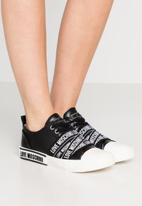 Love Moschino - LABEL SOLE - Trainers - black - 0