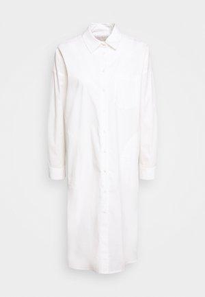 EDIL - Skjortekjole - white
