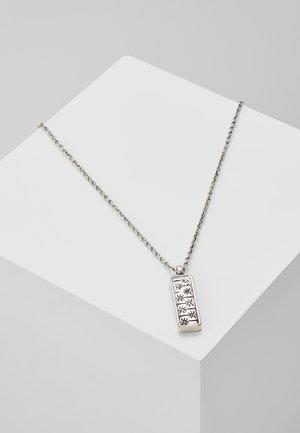 PALM PATTERN NECKLACE - Náhrdelník - silver-coloured