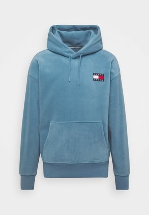 POLAR BADGE HOODIE - Hoodie - vintage denim