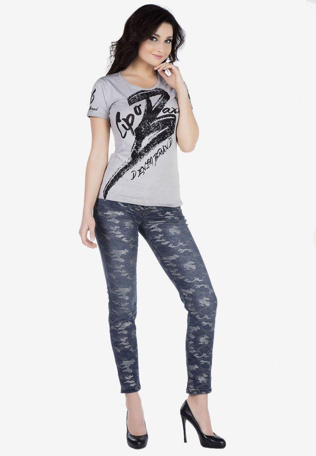 Slim fit jeans - indigocamouflage