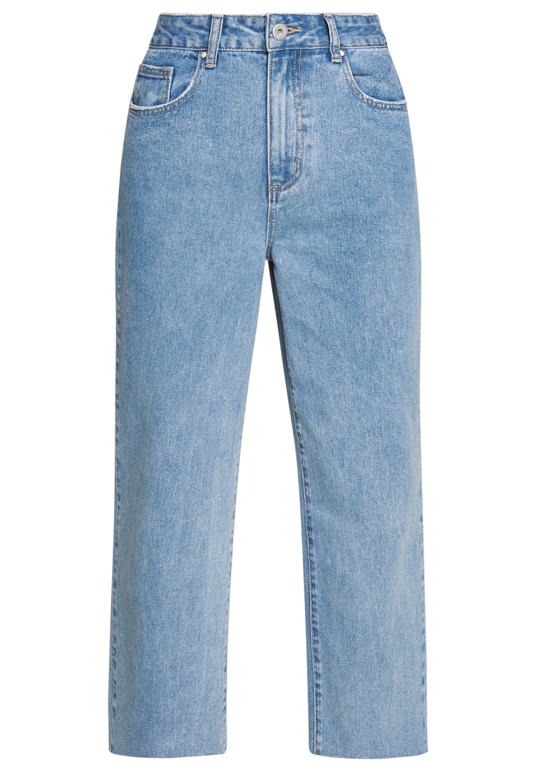 Women HIGH RISE WIDE LEG - Straight leg jeans