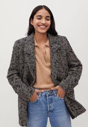 FOXI - Short coat - schwarz