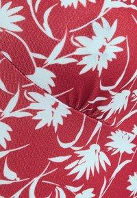 Even&Odd - Jersey dress - red/white - 6