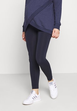 TAMMY OVERBUMP - Leggings - Trousers - navy