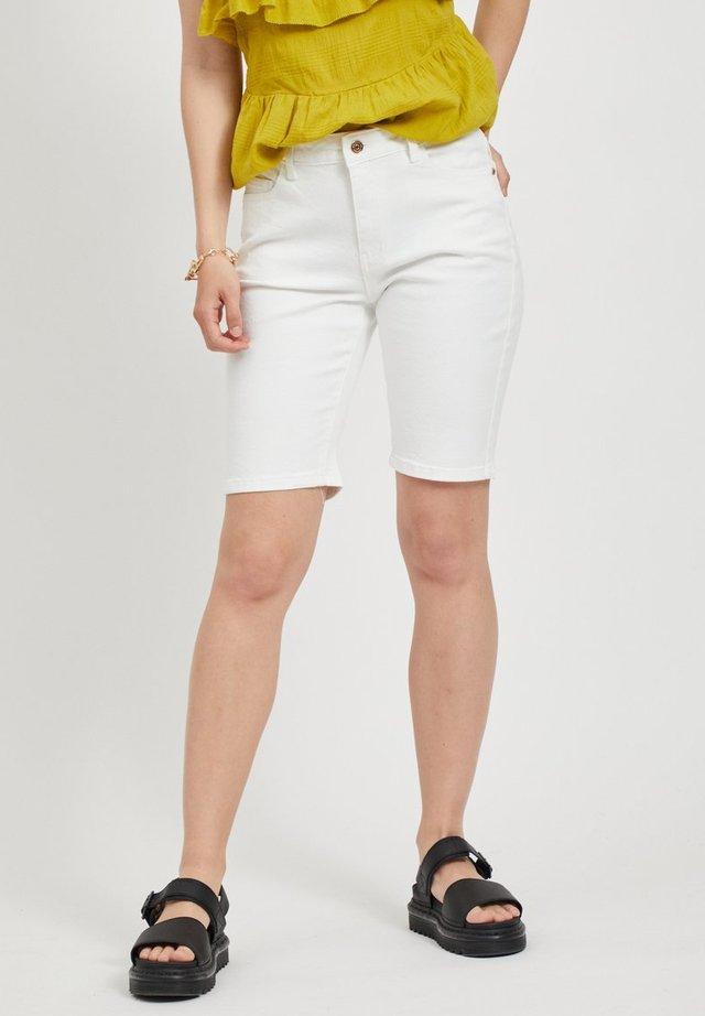 OBJMARINA  - Shorts di jeans - gardenia