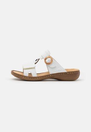 Sandaler - weiß