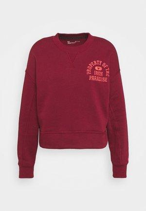 ROCK CREW - Sweatshirt - red