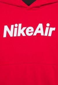 Nike Sportswear - AIR HOODIE UNISEX - Hoodie - university red/black/white - 2