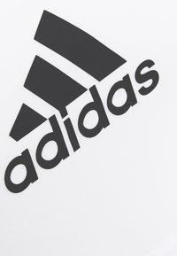 adidas Performance - ASK BRA - Medium support sports bra - white - 6