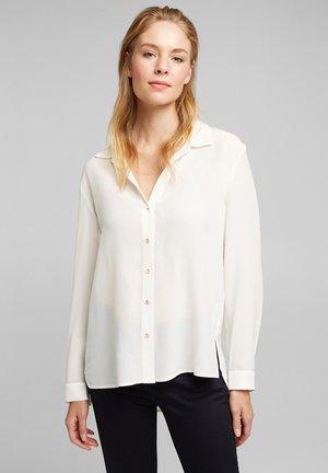 FASHION - Button-down blouse - off white