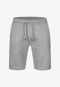 INDICODE JEANS - ECKERD - Shorts - grey mix - 4