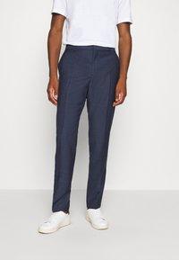 Calvin Klein Tailored - SPECKLED SUIT - Suit - blue - 4