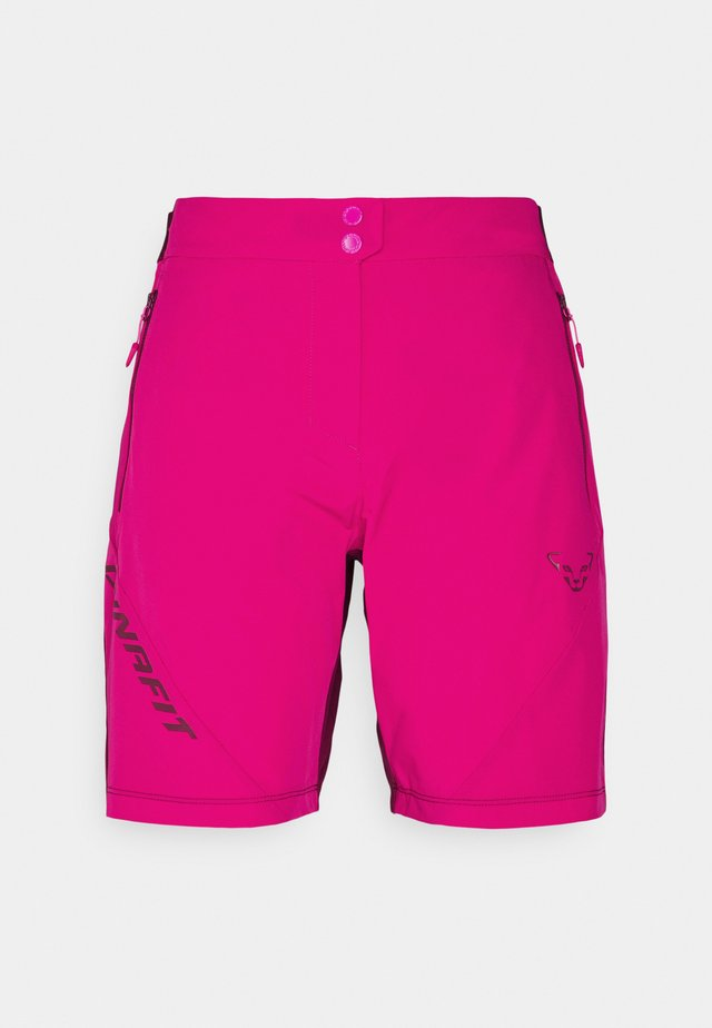 TRANSALPER LIGHT SHORTS - kurze Sporthose - flamingo