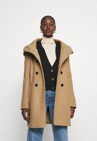 s.Oliver - Classic coat - brown - 0