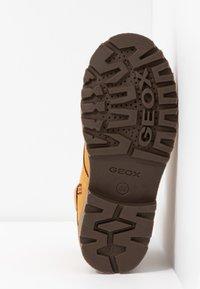 Geox - AXEL BOY - Veterboots - dark yellow - 5
