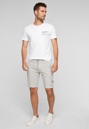 MIT FRONTPRINT - Print T-shirt - white co-existence print