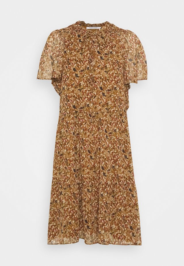 Korte jurk - maria camel