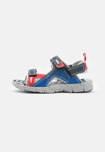 Sandals - navy/rosso