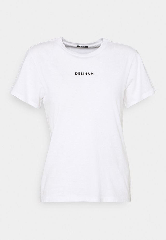 CAMELLIA GRAPHIC TEE - Print T-shirt - white