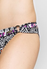 LASCANA - PANTS RING - Bikini bottoms - black/cream - 5
