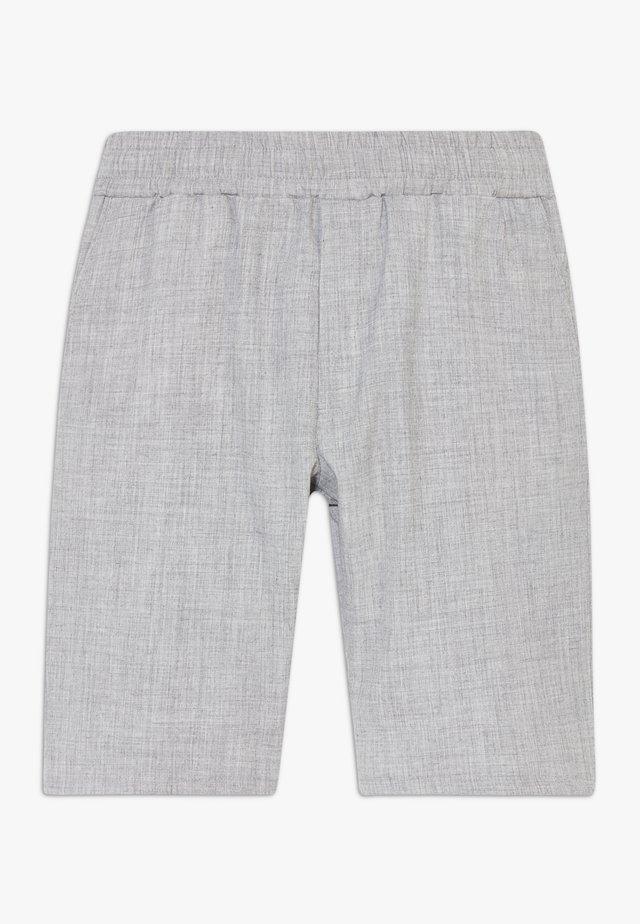 FRANZ - Shortsit - silver grey