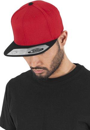 Cap - red/ black